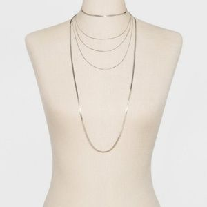 A New Day Silver Layer Chain Necklace